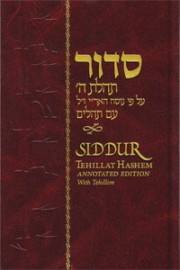 Siddur Annotated Large - Hebrew