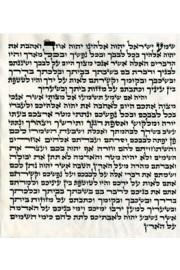 "Mezuzah 20cm (8"") Admur Hazaken"